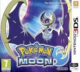 Pokémon moon on 3ds