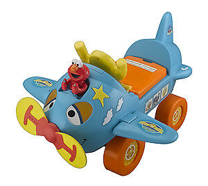 Sesame Street Fly Ride-On Plane with activities- Too much fun