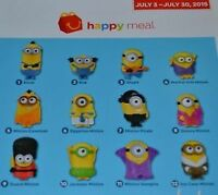 LOOKING FOR THESE MCDONALDS MINION TOYS
