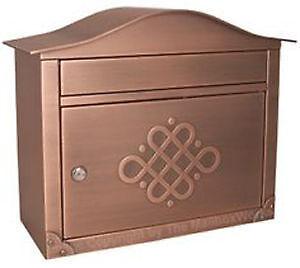 Antique Copper Mailbox