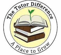 The Tutor Difference : Elementary & High School Level Subjects