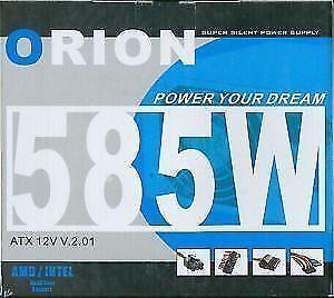 ORION - 585 Watt ATX 12V Power Supply
