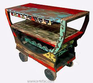 Mobile Bar Counter on Wheels on Final Clearance SALE price