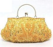 Vintage Gold Clutch