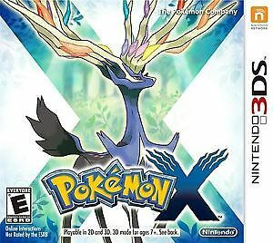 Sealed copy of Pokemon X