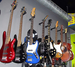 Wide Selection of Electric & Acoustic Guitars From $60.00