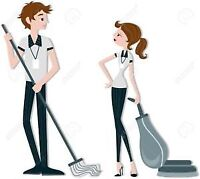 hardworking guy looking for cleaning partner asap