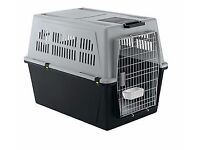 Foldable longhaul Dogtravel crate/kennel Airline approved, Suit car too &garden. Used once. Bargain.