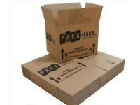 pack of 24 removal boxes (new)