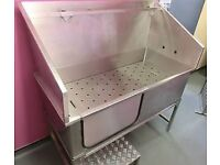 Stainless Steel Professional Dog Bath