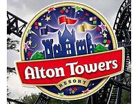 X2 Alton Towers Theme Park Tickets