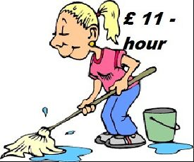 Cleaning Services .The whole area of Glasgow, Bersden etc.