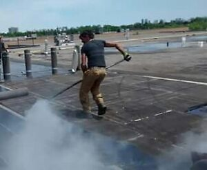 Flat roofs repairs 24/7 services Cambridge Kitchener Area image 1