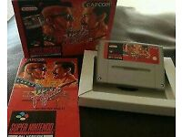Final fight super nintendo game boxed