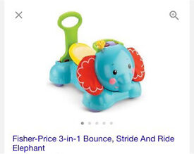 Fisher-price 3 in 1 bounce stride and ride brand new boxed