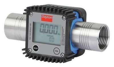 Dayton 32zn69 Flowmeterdigital1in.fnpt5.35 Cpslcd