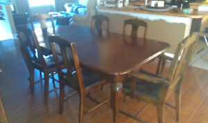 Antique Knetchel Dining Set plus China Cabinet and Cuttlery Desk Gatineau Ottawa / Gatineau Area image 1