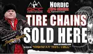 Nordic Studded Tire Chains