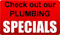 Plumber - Hot Water Tank Replacement & Sump Pump Specials