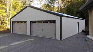 Steel buildings- Black Starts now!- shop early clearance
