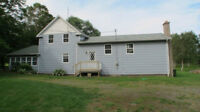 4BR 3BA home on 50 Fundy Bay acres plus INCOME from 3 cottages