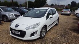 Peugeot 308 SR HDI-Finance Available to People on Benefits and Poor Credit Histories-