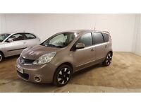 Nissan NOTE N-TEC+-Finance Available to People on Benefits and Poor Credit Histories-