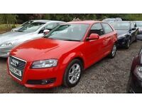 Audi A3 SE 158 TFSI-Finance Available to People on Benefits and Poor Credit Histories-