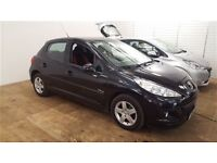 Peugeot 207 VERVE-Finance Available to People on Benefits and Poor Credit Histories-