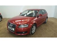 Audi A3 1.8 TFSI SE-Finance Available to People on Benefits and Poor Credit Histories-