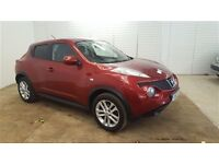 Nissan JUKE TEKNA-Finance Available to People on Benefits and Poor Credit Histories-