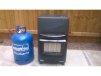 Calor Gas Cabinet Heater as New. Comes with full 15kg Butane Gas Bottle as pictured.