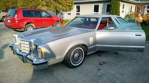 Trade '79 ford T-bird for a motorcycle