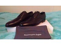 men formal italian black shoes size 8