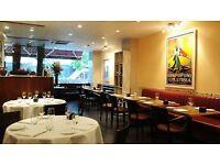 Waiter/Waitress for a formal Italian restaurant Latium in Fitzrovia