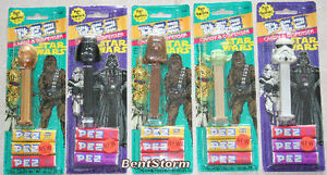 Star-Wars-PEZ-Candy-Dispenser-DARTH-VADER-C3PO-YODA-CHEWBACCA-STORM-TROOPER-NEW