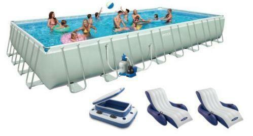 Intex Rectangular Pool Ebay