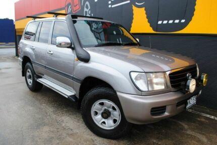 2001 Toyota Landcruiser HDJ100R GXL Warm Silver 4 Speed Automatic Wagon