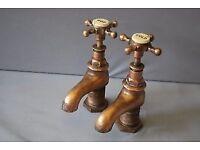 Vintage bath taps