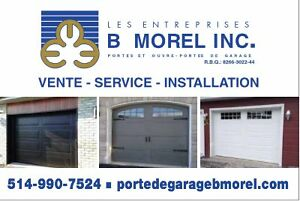 porte de garage usage a quebec