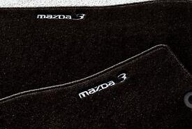 Genuine Mazda3 BK chassis, luxury carpet mats