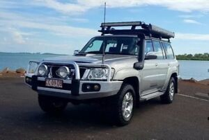 2012 Nissan Patrol Y61 GU 8 ST Simpson 50th Anniversary Silver 5 Speed Manual Wagon Berrimah Darwin City Preview