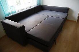 Grey colour sofa bed good condition