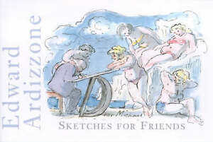 Edward Ardizzone: Sketches for Friends, Good Condition Book, Ed Taylor, Judy, IS