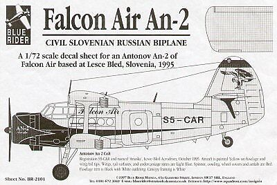Blue Rider 1/72 Antonov An-2 ''Colt'' Falcon Air Slovenia 2101