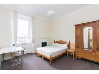 DOUBLE BEDROOMS for let within supreme HMO flat in Tollcross with TV & WiFi - available January!