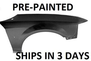 New Painted to Match - Right Fender 1999 2000 2001 2002 2003 2004 Ford Mustang