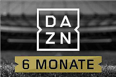 DAZN Gutschein - 6 Monate (Champions League, usw.) 1/2 Jahr !!!TOP!!!