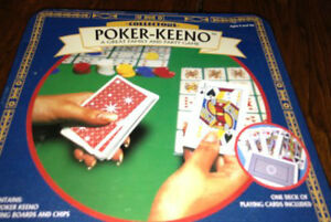 Poker Keeno and scribbage games for sale London Ontario image 1