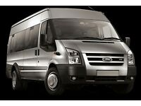 Minibus with Driver for hire 9-16 passengers All London Airports and UK destinations
